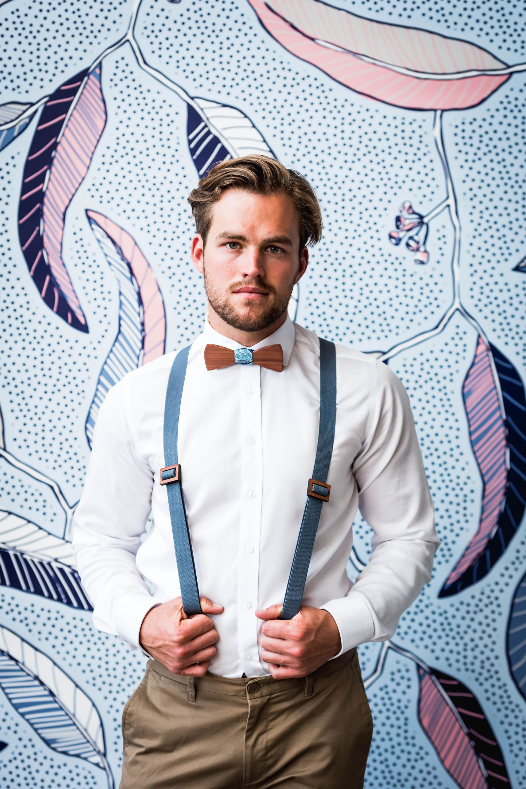 The art of wearing suspenders